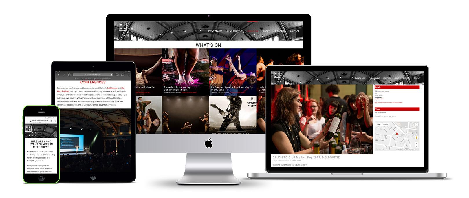 Inspired Marketing Services, Meat Market Website Design & Development